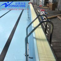 拼装式钢结构游泳池结构流程工程-广州纵康