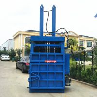 广西废纸箱液压打包机 塑料瓶立式打包机厂家