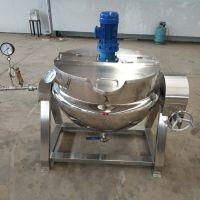 夹层锅电加热厂家 果蔬肉类蒸煮加工设备 精制夹层锅电加热炊具