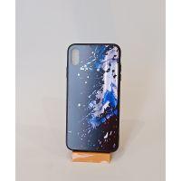 苹果系列钢化玻璃手机壳潮流款硅胶包边防摔保护套