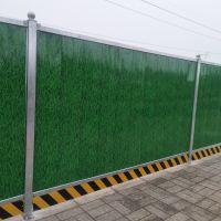 临时市政工地工程围挡绿色草坪围挡 彩钢泡沫夹心板围挡夹芯