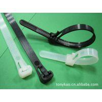 侑晋厂家直销:高品质 可退式尼龙扎带(可重复使用扎带、束带)