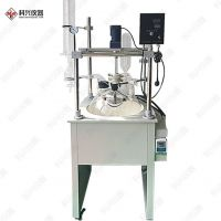 加热套式单层玻璃反应釜整体结构稳定可移动