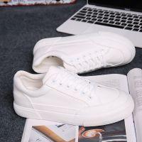 2018新款布鞋小白鞋街拍帆布鞋女学生韩版白鞋百搭休闲板鞋冬秋季