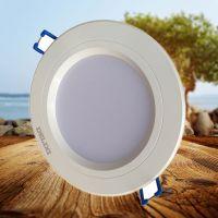 正品德力西LED筒灯MQ202 2.5到6寸开孔led贴片高效节能筒灯