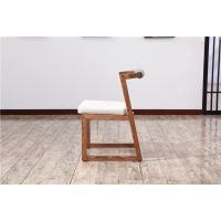 木言木语批发出售实木餐椅带高档坐垫