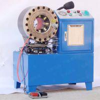 振鹏管类加工机械 圆管对接扣压设备 扣押数量300/小时 加工胶管设备