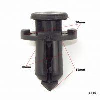 适用于宝马X5汽车保险杠卡扣 保险杠穿心钉 适用宝马隔热棉卡子