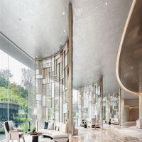 铄旺厂家定制 家用欧式活动酒店屏风隔断 彩色304不锈钢镂空屏风