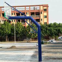 深圳南山社区种地篮球架安装小区埋地篮球架安装方法