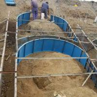 拱形骨架护坡钢模具安装方便尺寸标准