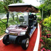 供应傲森AS008电动4.2千瓦8座咖啡色旅游观光车