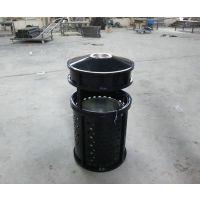绵阳环畅垃圾桶 注册商标 景区庭院垃圾箱 单筒垃圾桶 铁质广场垃圾箱