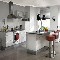 工厂直销定制 开放式整体厨房橱柜 欧式简约风壁柜 别墅整屋装修