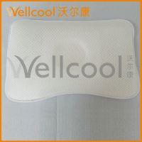 【3d异形枕】沃尔康3d枕头厂家直销 单人用蝶型护颈枕 弹性纤维枕