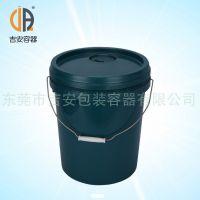 大量供应机油桶 18L化工塑料桶 18升涂料桶厂价直销