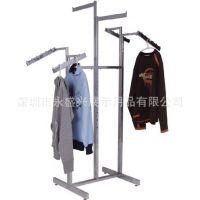 供应高档服装展示架,挂衣架,品牌店道具,品牌店陈列架,可订做