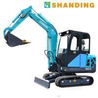 广东深圳微小型挖掘机欢迎选购 超小挖机挖土专用报价多少钱