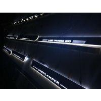 改装丰田霸道专车专用LED动态流光迎宾踏板灯进口材料安装简单