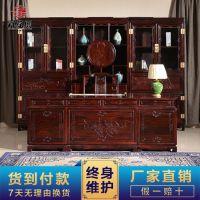 祥蕴阁红木书桌办公桌一件代发 红木家具写字桌电脑桌厂家直销