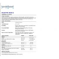Purell PE 3020D LDPE符合USP Class IV、ISO10993、FDA巴赛尔