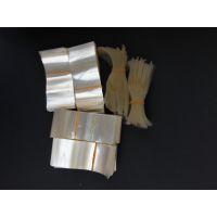PVC透明无印刷瓶口膜现货尺寸65mmX30mm 200个/捆