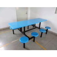 食堂餐桌条凳的什么价格 南水镇工厂玻璃钢餐台批发