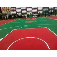益阳工厂活动中心篮球场设计图-资阳小区配套球场弹性层施工价格