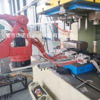 红冲螺母自动化,红冲机械手厂家,琪诺关节取料机械手臂