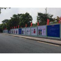 深圳龙华厂家直销临边围栏广告围挡移动铁马
