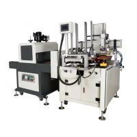 奥嘉全新全自动尺子平面丝印机