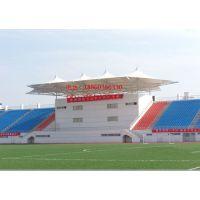 体育看台膜结构工程足球场膜结构