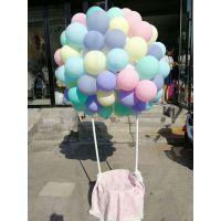 厂家直销 2.2克马卡龙色乳胶气球 婚房布置派对婚礼装饰婚庆气球