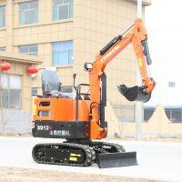 隧道清淤作业用各种小挖掘机 5万元小挖机型号