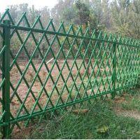 仿竹草坪护栏@仿竹篱笆绿色围栏@景观竹节护栏