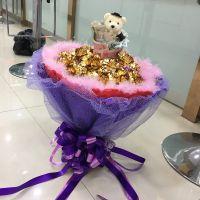 24k金箔康乃馨金色玫瑰花束批发母亲情人节镀金礼品实用创意礼物