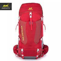 黄蚂蚁65L户外可调节背负登山包旅行包徒步背包