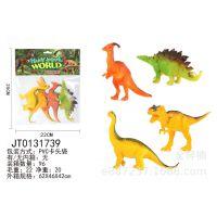 淘宝热卖赠品小玩具塑料公仔批发仿真侏罗纪小恐龙动物模型