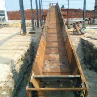 链板爬坡线专业生产 链条链板输送机调试品牌厂家