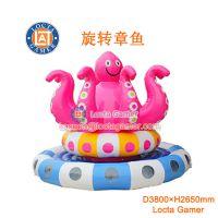 供应中山泰乐游乐制造 中小型室内外游乐设备 儿童乐园 PVC淘气堡 充气 章鱼(LTA-INF3)