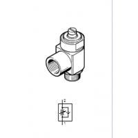 供应 FESTO/费斯托 CRGRLA-1/4-B 单向节流阀;排气
