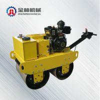 山东省济宁新品促销 600双轮压路机 供应柴油机压路机