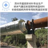热网管道保温材料结构 HAT长输低能耗气垫隔热反对流层
