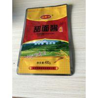 鸡西塑料包装厂 定制生产大豆酱包装袋 精美吸嘴袋 可来样加工