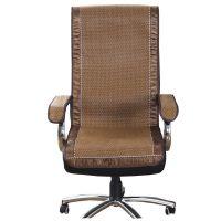 夏天凉席坐垫靠垫一体夏季办公室电脑椅子透气竹座垫老板垫屁股垫