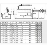 中西(LQS现货)油动机传感器 型号:ZH233-HTD-150-3库号:M381076