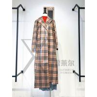广州雪莱尔品牌折扣女装店薇璐2018新款风衣尾货拿货渠道新款组货包