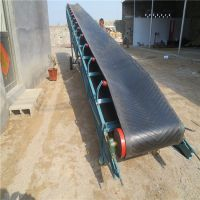 PVC耐磨粮食装船输送带/皮带机双向运转