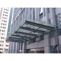 雨棚玻璃幕墙安装维修价格多少钱一平方深圳雨棚玻璃安装更换
