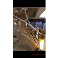 合川铝板镂空护栏旋转楼梯专用铝艺雕花护栏图片